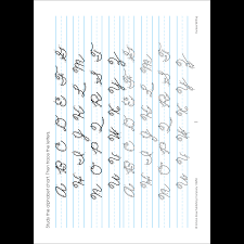 4th Grade Cursive Writing Worksheets Cursive Writing 3 4 Deluxe Edition Workbook Makes Grown Up
