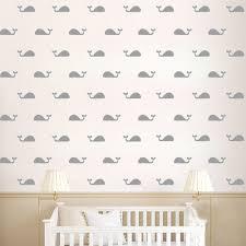 stickers muraux personnalisable stickers muraux forme baleines couleur personnalisable