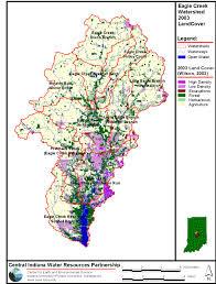 Iupui Map Eagle Creek Watershed Alliance