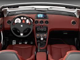 peugeot 206 convertible interior peugeot 308cc 2710611