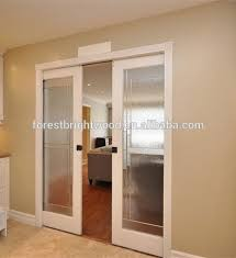 Interior Wood Doors With Frosted Glass Glass Interior Pocket Door Glass Interior Pocket Door Suppliers