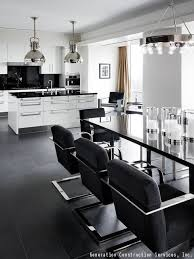 white kitchen cabinets black tile floor how to decorate your kitchen using black white