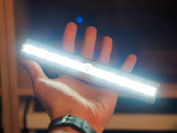 magnetic battery operated led lights 10 super bright white led wireless motion sensing light bar with