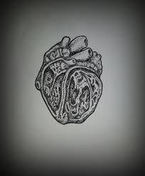 dotwork heart tattoo sketch by shadowkult on deviantart