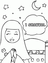 eid coloring pages kids coloring