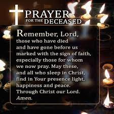 thanksgiving prayers deceased family thanksgiving blessings