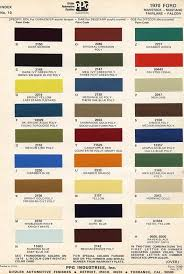 Ford Interior Paint Interior Paint Colors 1964 To 1970 Mustang Decoder Numbers