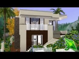 modern houses sims 3 u2013 modern house