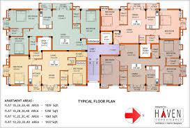 Unique Apartment Floor Plan Design Apartmenthouse Plans On Decorating - Apartments plans designs