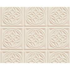 as creation oslo tile pattern wallpaper faux kitchen bathroom 329804