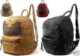 designer rucksack damen damen herren designer rucksack unisex mit nieten