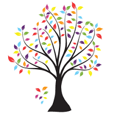 colorful tree wall decals dezign with a z
