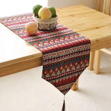 home decor table runner new table runners for christmas linen tables runner cotton rectangle