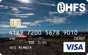 free debit card visa debit card hfs federal credit union