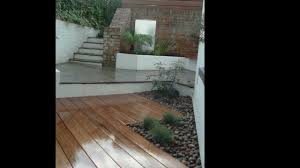Small Courtyard Garden Design Ideas by Urban Garden Design For Small Courtyard Finished Garden Youtube