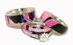 pink camo wedding rings camo wedding rings with real diamonds