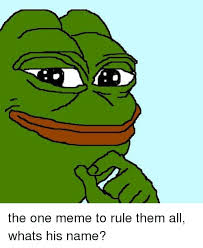 All Memes Names - 25 best memes about one meme to rule them all one meme to
