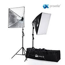 Box For Lights 700w Photography Softbox Studio Lighting Kit 24 X24