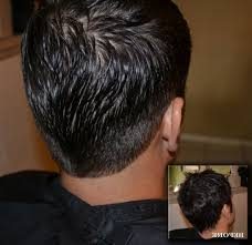 mens short hairstyles back view mens haircuts back view women