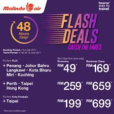 air flash deals from rm1 onwards feb 2017