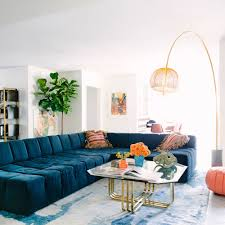 bold interior color schemes sunset