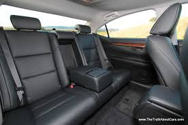 lexus es300 back 2013 lexus es 300h interior rear seats picture courtesy of alex