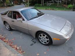 porsche 944 silver 1988 porsche 944 turbo s german cars for sale