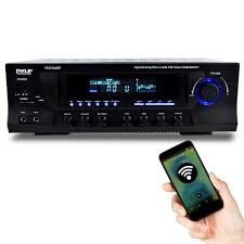 mp3 home theater pyle pt272aubt hybrid amplifier receiver home theater stereo