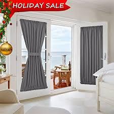 Blackout Patio Door Curtains Grey Door Curtains Blackout Patio Door