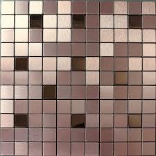aluminum kitchen backsplash brushed metallic mosaic tiles stainless steel kitchen backsplash 9103