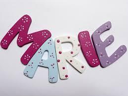 buchstaben kinderzimmer holzbuchstaben buchstaben für das kinderzimmer ein