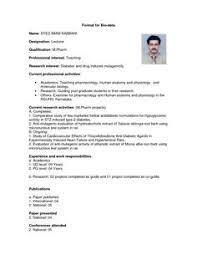 biodata format word format image result for simple biodata format for job fresher english