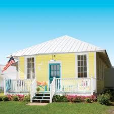 little yellow beach cottage tour coastal living