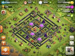 best of clash of clans clash of clans tips town hall level 9 layouts