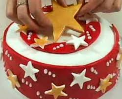 white chocolate orange u0026 cranberry christmas cake recipe bbc