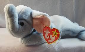 beanie babies online price guide amazon com ty beanie babies peanut the light blue elephant
