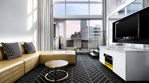 wonderful room at w montréal