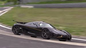 koenigsegg one 1 koenigsegg one 1 spied lapping nürburgring record in new video