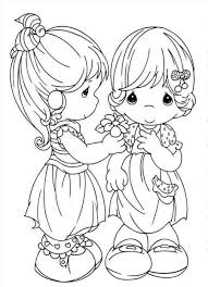 precious moments sisters colouring pages inside shimosoku biz