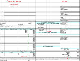 excel sales receipt template free hvac invoice template excel pdf word doc
