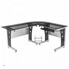 bureau verre meuble meuble d ordinateur en verre bureau gamer meuble