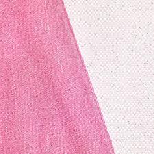 tulle fabric bubblegum pink glitter tulle fabric onlinefabricstore net