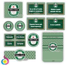 Conhecido Kit Chá Bar Heineken no Elo7 | Loja Suarte (421437) &WT84