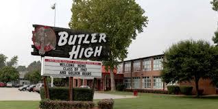 high high school house home butler traditional high school