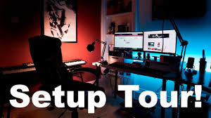 setup tour 2017 awesome gaming and editing setup youtube