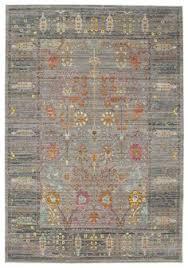 teppich k che vintage teppich rosa braun silber orientteppich bild