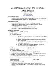 It Professional Sample Resume by Professional Resumes Format Sales Template For Resume Free 40 Top