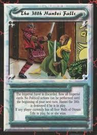 Pokemon Hantei - the 38th hantei falls uncommon scorpion clan coup 1 legend