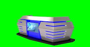 News Studio Desk by Isolated Virtual News Studio Desk Motion Background Videoblocks