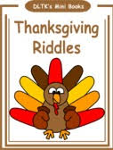 dltk s make your own books thanksgiving riddles